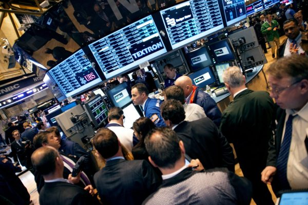 NYSE New York Stock Exchange traders