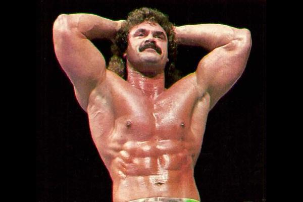 rick rude WWF star buff Big Dog