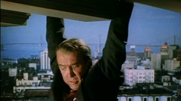 Vertigo_1958_trailer_Stewart_hanging_on