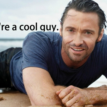 cool guy affirmation meditation